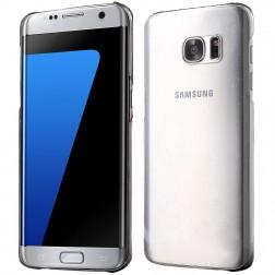 Plastikinis dėklas - skaidrus (Galaxy S7 Edge)