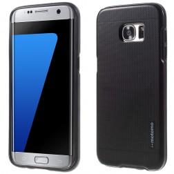 """""""Motomo"""" sustiprintos apsaugos dėklas - juodas (Galaxy S7)"""
