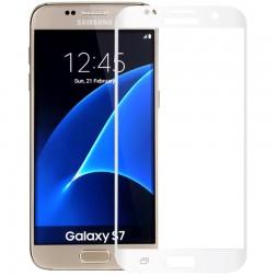 """""""Amorus"""" Tempered Glass apsauginis ekrano stiklas 0.26 mm - baltas (Galaxy S7)"""