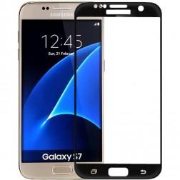 """""""Amorus"""" Tempered Glass apsauginis ekrano stiklas 0.26 mm - juodas (Galaxy S7)"""
