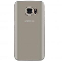 Ploniausias TPU skaidrus dėklas - pilkas (Galaxy S7)