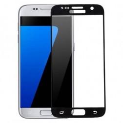"""""""Hat-Prince"""" Tempered Glass apsauginis ekrano stiklas 0.26 mm - juodas (Galaxy S7)"""