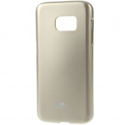 """""""Mercury"""" dėklas - auksinis (Galaxy S7)"""