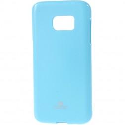 """""""Mercury"""" dėklas - šviesiai mėlynas (Galaxy S7)"""