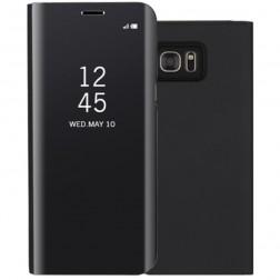Plastikinis atverčiamas dėklas - juodas (Galaxy S7)
