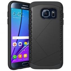 Sustiprintos apsaugos dėklas - juodas (Galaxy S7)