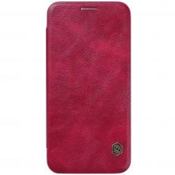 """""""Nillkin"""" Qin atverčiamas dėklas - raudonas (Galaxy S7)"""
