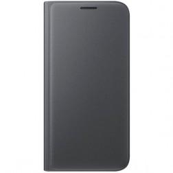 """""""Samsung"""" Flip Wallet Cover atverčiamas dėklas - juodas (Galaxy S7)"""