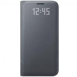 """""""Samsung"""" Led View Cover atverčiamas dėklas - juodas (Galaxy S7)"""