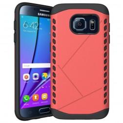 Sustiprintos apsaugos dėklas - raudonas (Galaxy S7)