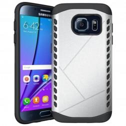 Sustiprintos apsaugos dėklas - sidabrinis (Galaxy S7)