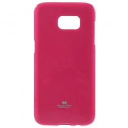 """""""Mercury"""" dėklas - tamsiai rožinis (Galaxy S7 Edge)"""