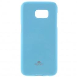 """""""Mercury"""" dėklas - šviesiai mėlynas (Galaxy S7 Edge)"""