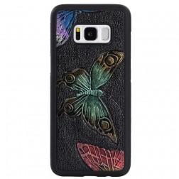 """""""My Colors"""" dėklas - Drugeliai (Galaxy S8)"""