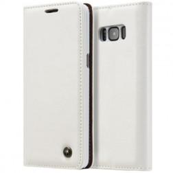 """""""CaseMe"""" solidus atverčiamas dėklas - baltas (Galaxy S8)"""