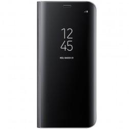 """""""Samsung"""" Clear View Standing Cover atverčiamas dėklas - juodas (Galaxy S8)"""