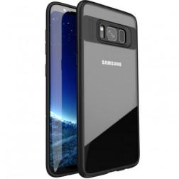 """""""IPAKY"""" Frame dėklas - skaidrus / juodas (Galaxy S8)"""