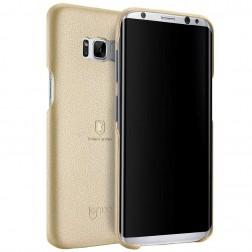 """""""Lenuo"""" Soft Slim dėklas - auksinis (Galaxy S8)"""