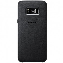 """Samsung"" Alcantara Cover dėklas - juodas (Galaxy S8)"