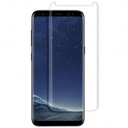 """""""PDGD 3D"""" 9H Tempered Glass pilnai dengiantis apsauginis ekrano stiklas 0.2 mm - skaidrus (Galaxy S8)"""