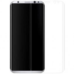 """""""ISME"""" apsauginė ekrano plėvelė (pilnai dengianti) - skaidri (Galaxy S8)"""
