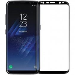 """""""Nillkin"""" 3D 9H Tempered Glass apsauginis ekrano stiklas 0.26 mm - juodas (Galaxy S8)"""
