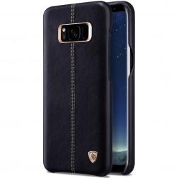 """""""Nillkin"""" Englon dėklas - juodas (Galaxy S8)"""