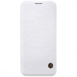 """""""Nillkin"""" Qin atverčiamas dėklas - baltas (Galaxy S8)"""