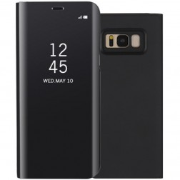 Plastikinis atverčiamas dėklas - juodas (Galaxy S8)