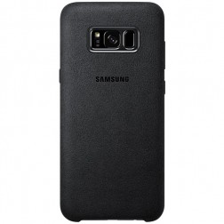 """Samsung"" Alcantara Cover dėklas - juodas (Galaxy S8+)"