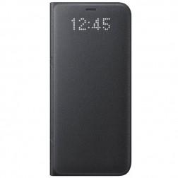 """""""Samsung"""" Led View Cover atverčiamas dėklas - juodas (Galaxy S8+)"""