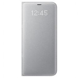 """""""Samsung"""" Led View Cover atverčiamas dėklas - sidabrinis (Galaxy S8+)"""