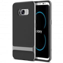 """""""Rock"""" Royce dėklas - juodas / pilkas (Galaxy S8+)"""