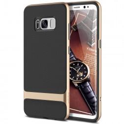"""""""Rock"""" Royce dėklas - juodas / auksinis (Galaxy S8)"""