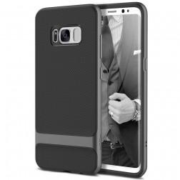 """""""Rock"""" Royce dėklas - juodas / pilkas (Galaxy S8)"""