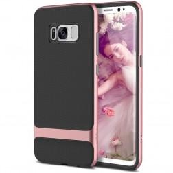 """""""Rock"""" Royce dėklas - juodas / rožinis (Galaxy S8)"""