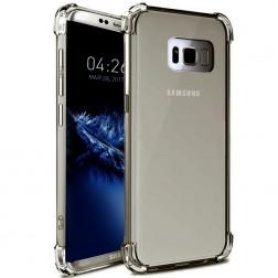 Ploniausias TPU skaidrus dėklas - pilkas (Galaxy S8)