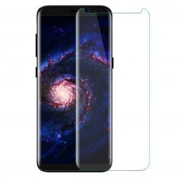 """""""PDGD 3D"""" 9H Tempered Glass pilnai dengiantis apsauginis ekrano stiklas 0.2 mm - skaidrus (Galaxy S8+)"""