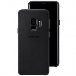 """Samsung"" Alcantara Cover dėklas - juodas (Galaxy S9)"