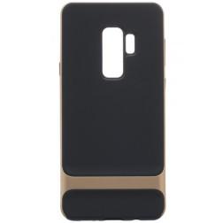 """""""Rock"""" Royce dėklas - juodas / auksinis (Galaxy S9)"""
