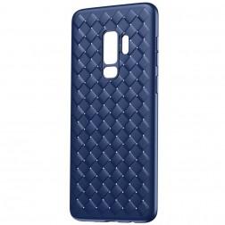 """""""Baseus"""" Weaving dėklas - mėlynas (Galaxy S9)"""