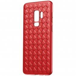"""""""Baseus"""" Weaving dėklas - raudonas (Galaxy S9)"""
