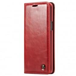 """""""CaseMe"""" solidus atverčiamas dėklas - raudonas (Galaxy S9)"""