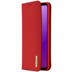 """""""Dux Ducis"""" Wish atverčiamas dėklas - raudonas (Galaxy S9)"""