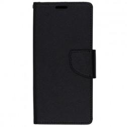 """""""Fancy"""" atverčiamas dėklas - juodas (Galaxy S9)"""