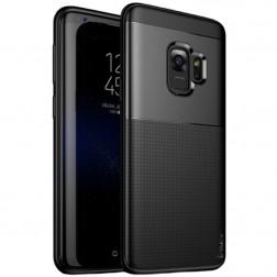 """""""IPAKY"""" Shield dėklas - juodas (Galaxy S9)"""