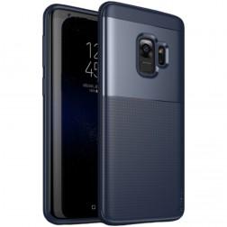"""""""IPAKY"""" Shield dėklas - mėlynas (Galaxy S9)"""