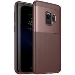 """""""IPAKY"""" Shield dėklas - rudas (Galaxy S9)"""