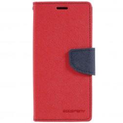 """""""Mercury"""" Fancy atverčiamas dėklas - raudonas (Galaxy S9)"""