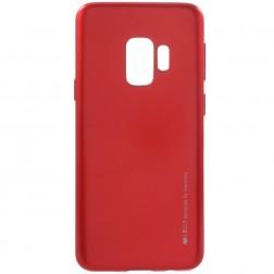 """""""Mercury"""" dėklas - raudonas (Galaxy S9)"""